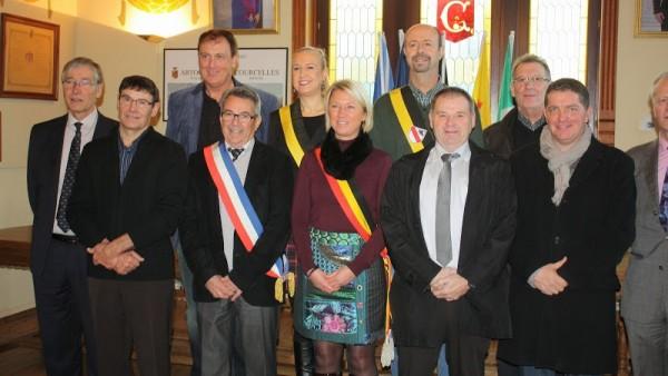 Courcelles en Belgique le 16/12/2014