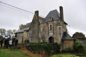 Visite du manoir de Chantilly sur la commune de courcelles de Touraine