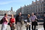 Sur la place d'Arras