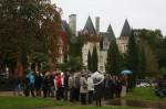 Visite du chateau-hôtel golf des 7 tours sur la commune de Courclles de Touraine