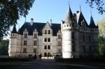 Chateau d'Azay le Rideau visité le lundi