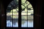 Vue d'une fenêtre du chateau d'Azay le Rideau