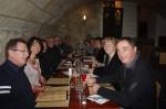 Repas le lundi dans un restaurant de Tours disposant d'une salle en forme de cave