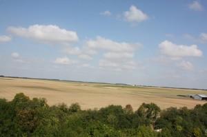 Vue de la plaine de Beauce