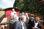 Petit train touristique près de Pithiviers