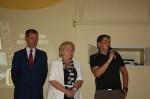 Les officiels: Sénateur, Députée, Maire de Courcelles sur Nied