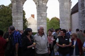 Visite de la chapelle St Hubert à Courcelles