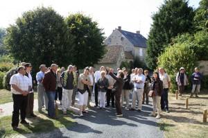 Visite d'Yèvre le Chatel