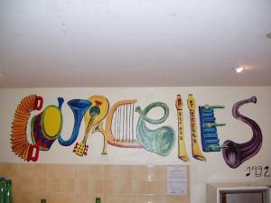 Décoration de la salle communale
