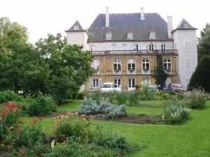 Le lycée agricole sur la commune de courcelles Chaussy