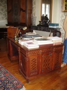 Bureau de Robert Schumann père de l'Europe