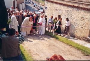 Inauguration de l'église après rénovation.