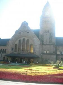 La gare de Metz