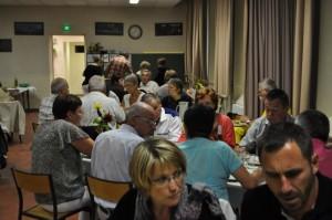 Repas offert par la municipalité à la salle des fêtes