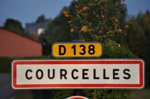 Panneau de Courcelles
