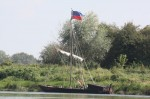 Un des bateaux reconstitué de la marine de Loire