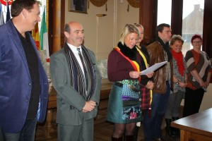 Le discours d'accueil de Caroline TAQUIN - Bourgmestre
