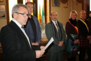 Le discours de Dominique FLABOT - Président des Courcelles de France