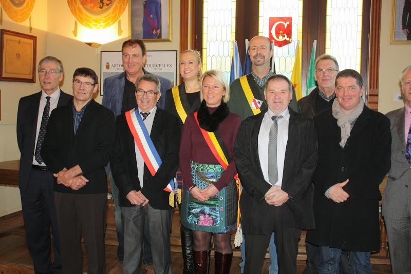 Read more about the article Courcelles en Belgique le 16/12/2014
