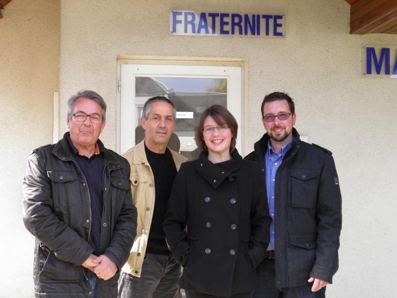 Visite des Courcellois du Québec chez notre Président en Touraine …