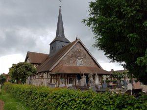L'église d'Outines