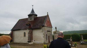 L'église de Courcelles sur Voire