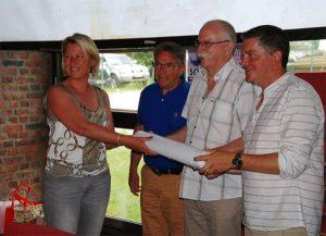 Transmission du témoin pour l'AG 2018 en Moselle.