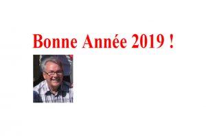 Read more about the article Meilleurs Vœux pour 2019