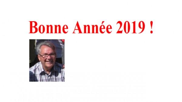 Meilleurs Vœux pour 2019
