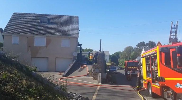 Le maire de Courcelles-le-Comte sauve deux jeunes filles d'un incendie